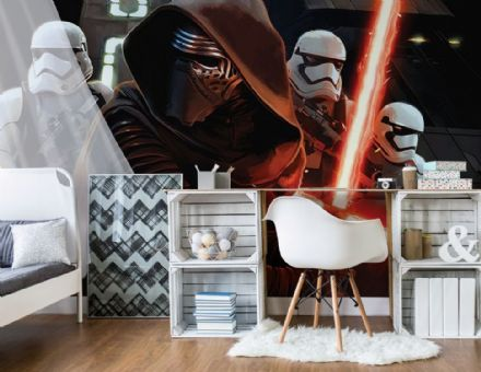 Non-woven wallpaper murals Star Wars Force Awakens 2739